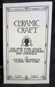 Early Advertising Flyer for the College