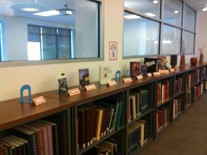 Senior Worker Book Display 2015
