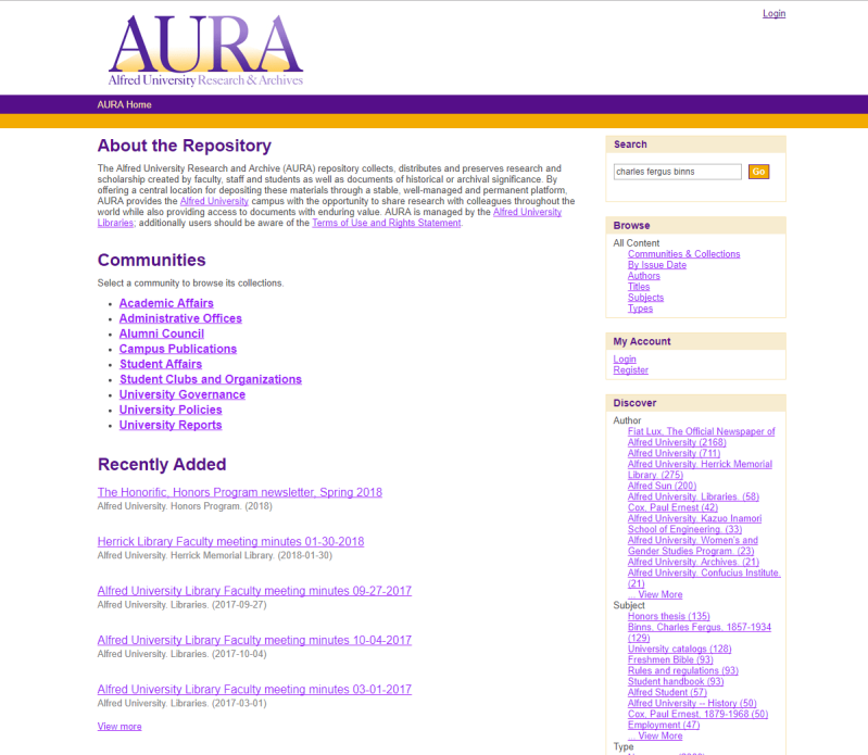 aura search